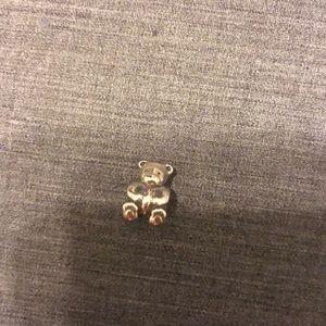 Sterling silver teddy bear pandora charm